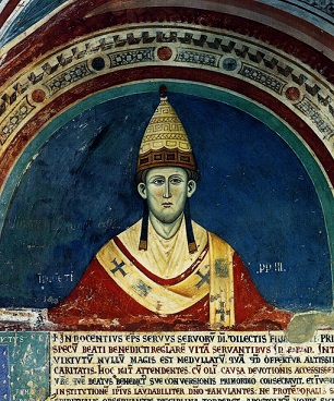 Fresco of Innocent III