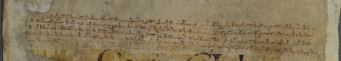Charter of King John establishing a committee of eight