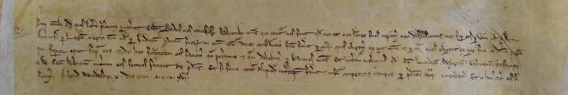 Letters of King John referring to the committee of eight