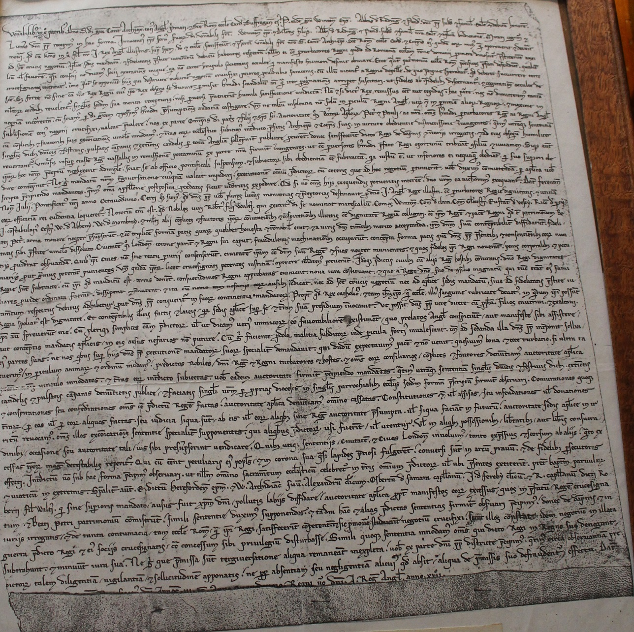 Magna Carta Project - Feature of the Month - Ten Letters on