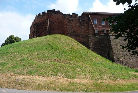 Chester Castle motte