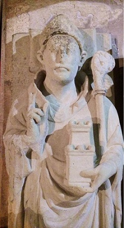 Effigy of Giles de Braose, bishop of Hereford