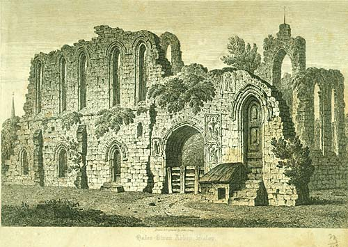 Halesowen Abbey, founded by Peter des Roches