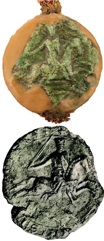 The seal of John fitz Robert
