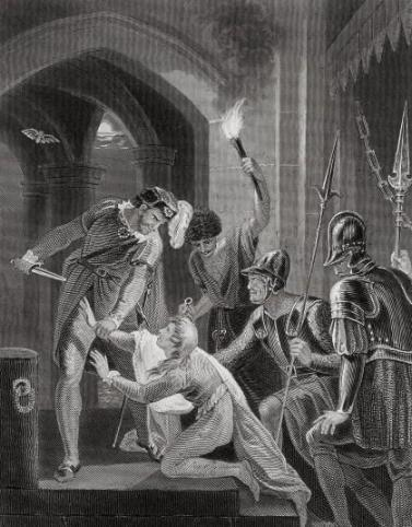 Murder of Prince Arthur, attributed to Thomas Welly (1754?)