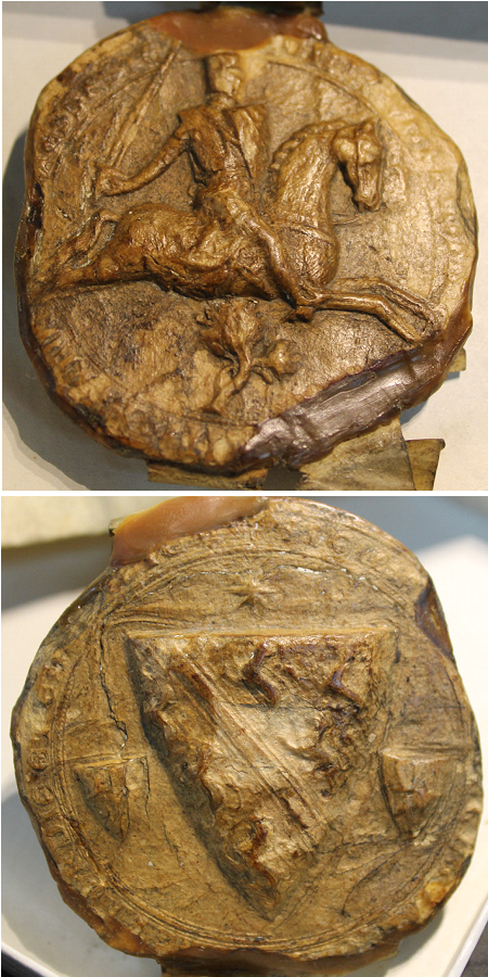 Seal of Humphrey de Bohun d.1275