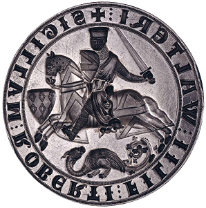 Seal of Robert fitz Walter