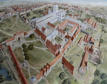 St Albans Abbey before the Dissolution