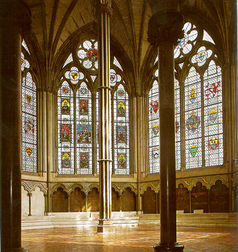 The Chapter House of Westminster Abbey